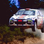 Colin Mcrae In His Ford Focus Rally