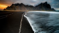 Permalink to Black Sand Beach Wallpaper