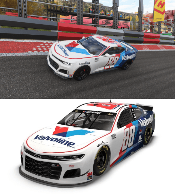Tried Making Alex Bowman S Nascar Race Car From The 2020 Season With The Chevrolet Camaro Zl1 In Forza Horizon 4 Forza