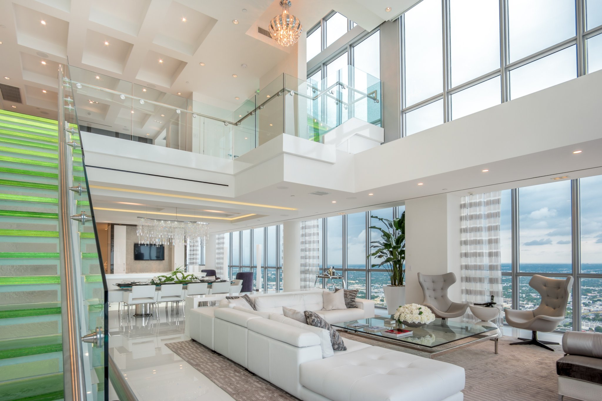 Miami Penthouse With Very Tall Ceiling Oc