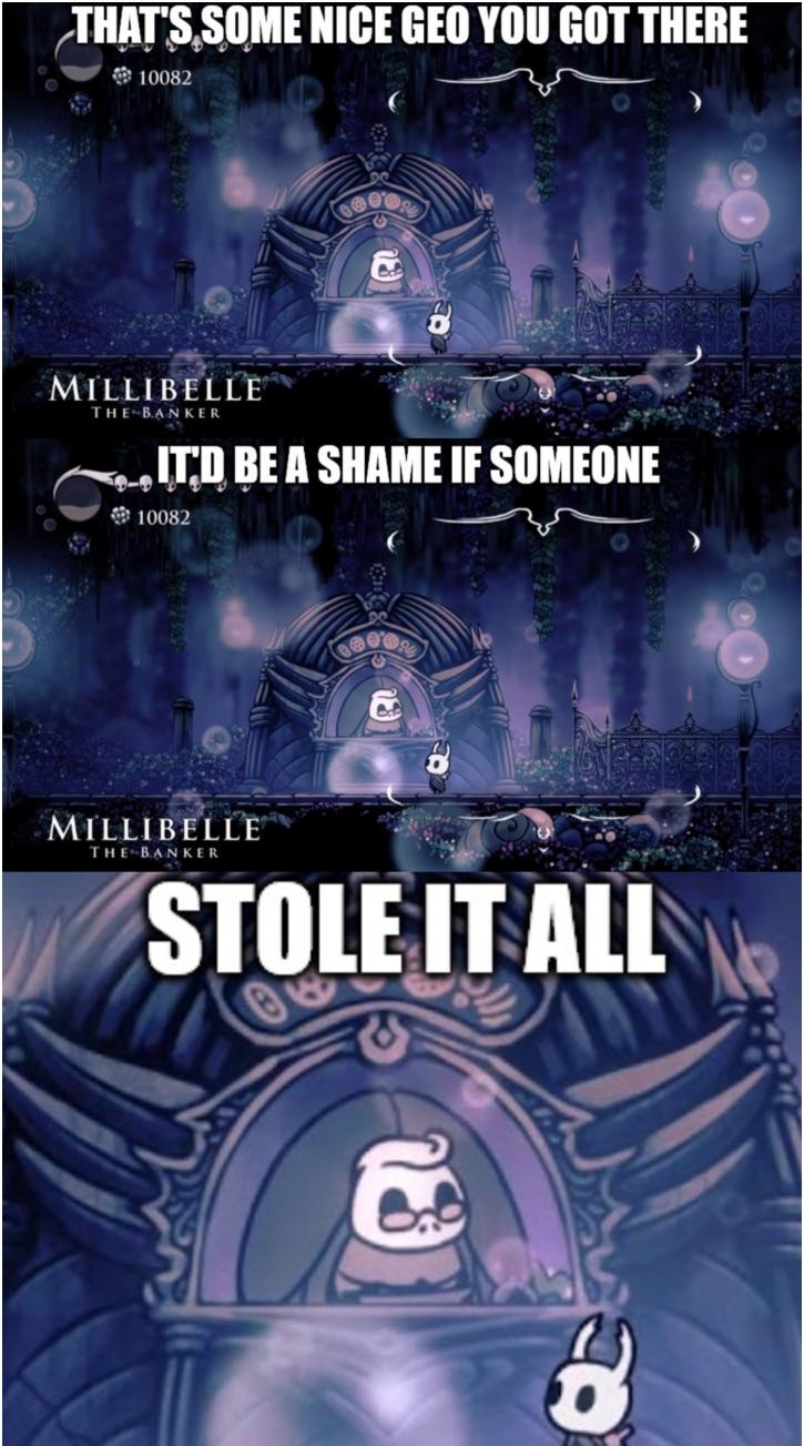 Nice Old Lady Hollowknightmemes