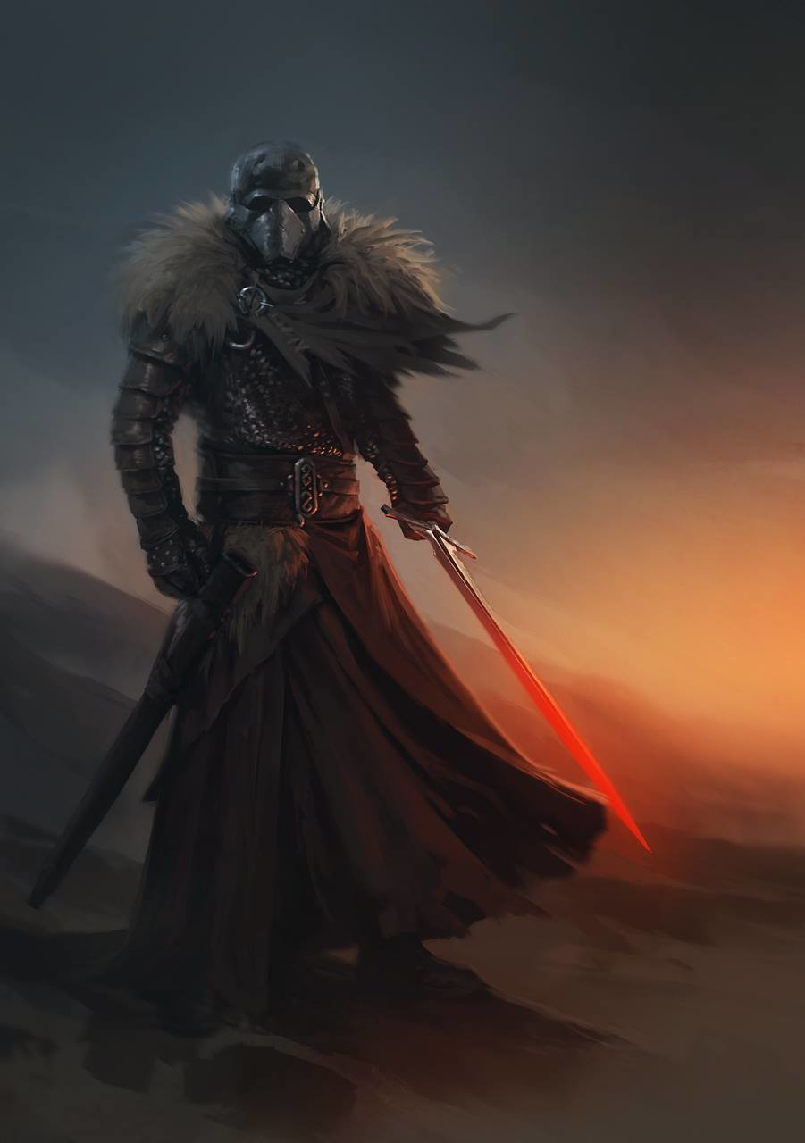 Medieval Kylo Ren Star Wars By Alex Charleux