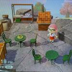 I Saw Someone Else S Outdoor Kitchen And Was Inspired To Make This Seaside Cafe Animalcrossing