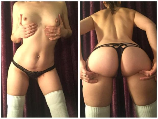 kwzrxi82vc141 - I'm maybe petite but you couldn't tell from behind Nude Selfie