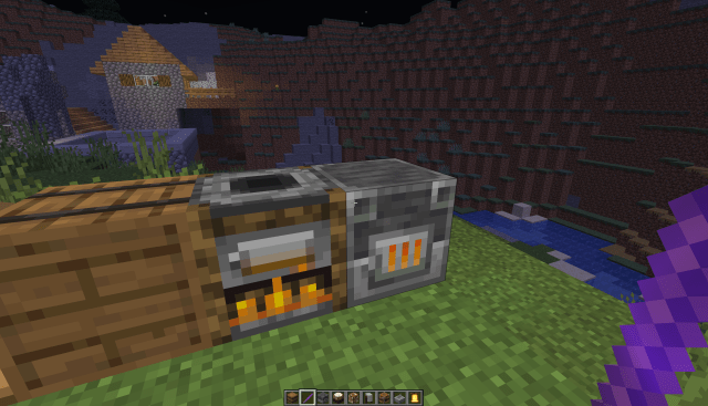 Smoker And Blast Furnace Animation (See Comments): Minecraft