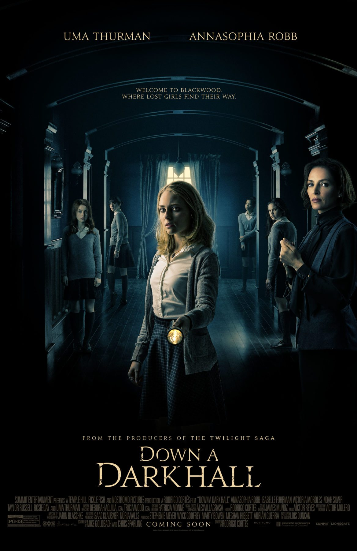 First Poster For Fantasy Thriller Down A Dark Hall