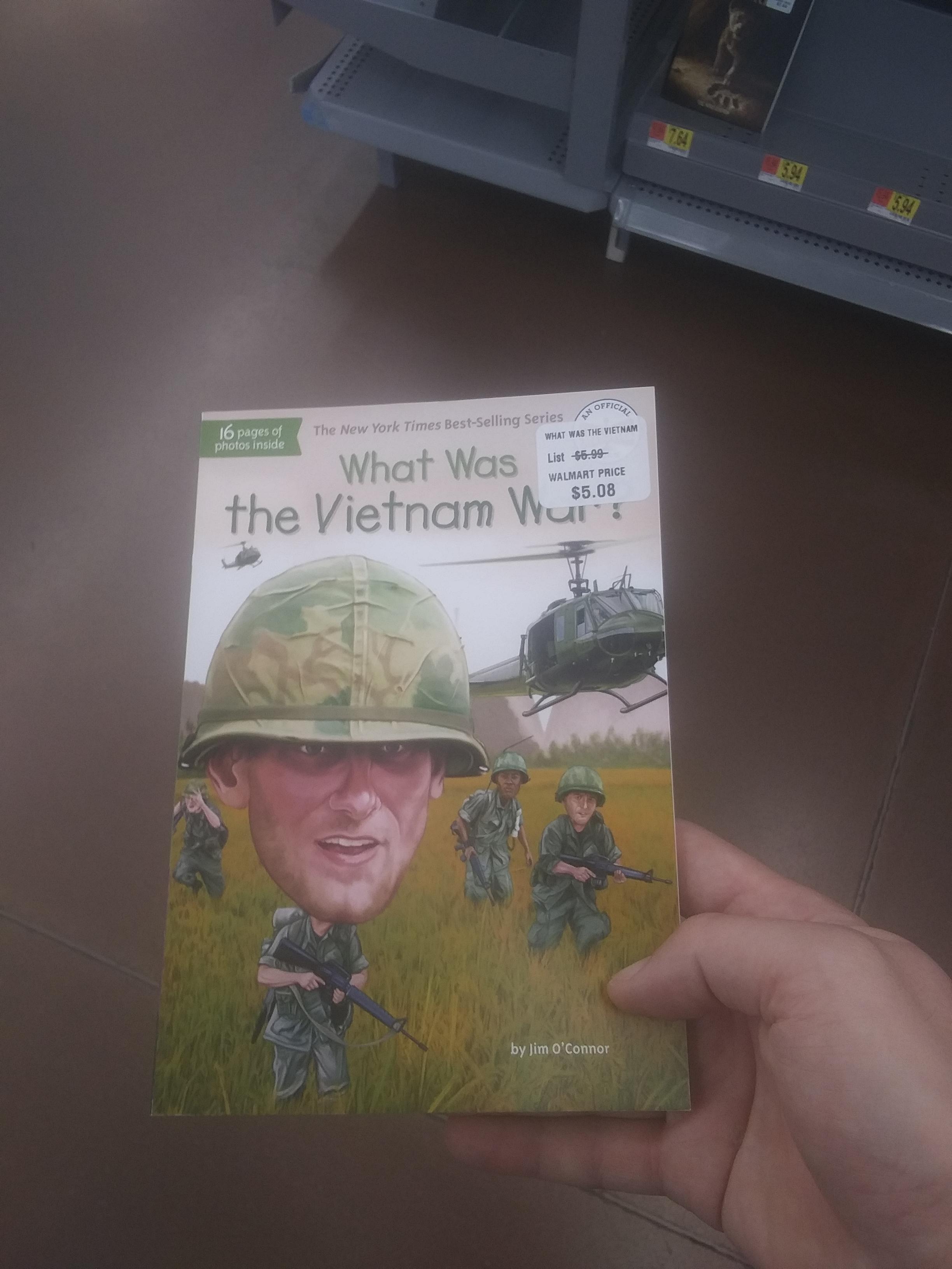A Vietnam War Book For Kids Ofcoursethatsathing