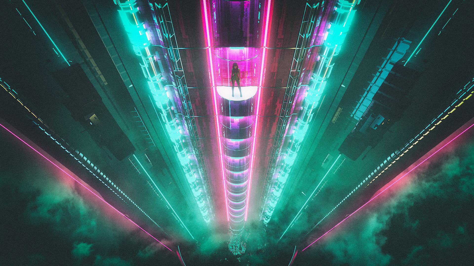 Neon String Light