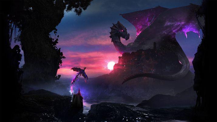 Space dragon [3840×2160]