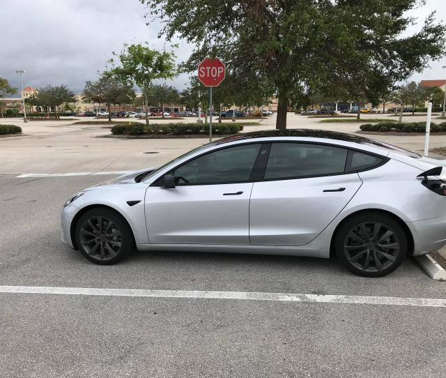 Beautiful Model  At The Fort Meyers Fl Supercharger Chrome Delete With The Dark Wheels Looked Great In Person Turns Out He Got It Done At The Same