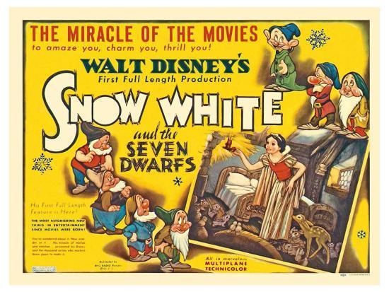 original snow white poster movies