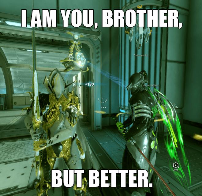When Volt Prime Meets Volt Warframe