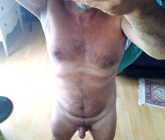 Mb Naked Dad Body Selfshot Dadbod