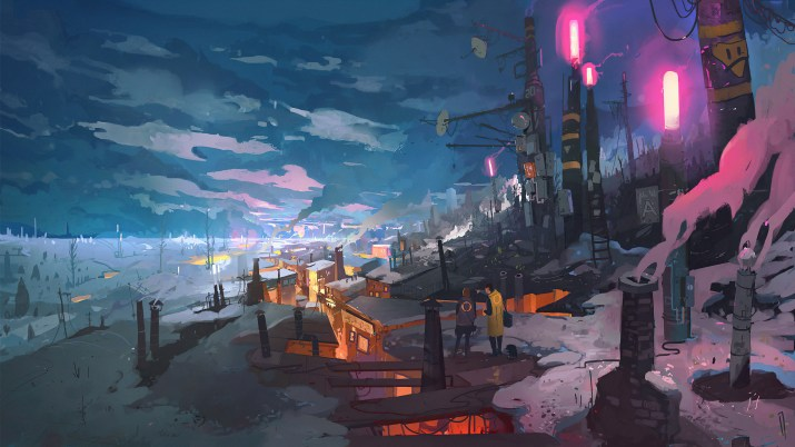 Winter City [3840×2160]