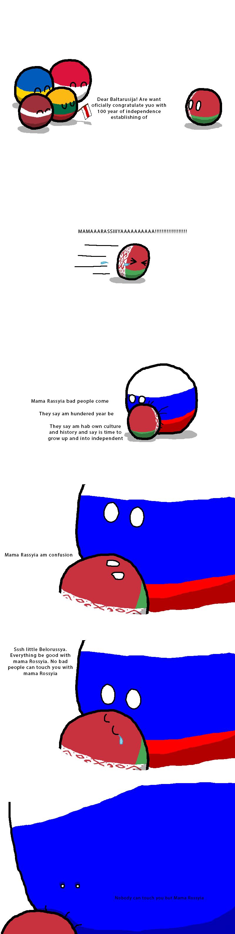 Countryballs Speedart 16 Soviet Republics
