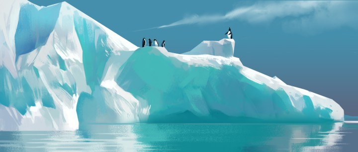 Penguins by Heri Irawan