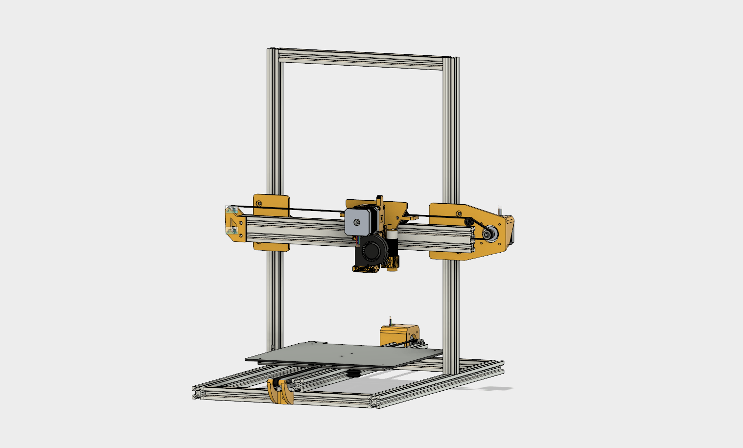 Can I Get Your Opinion On My 3d Printer Design 3dprinting