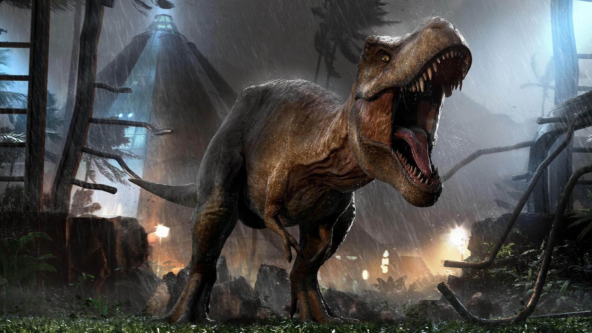 Official T Rex Wallpaper X Jurassicworldevo