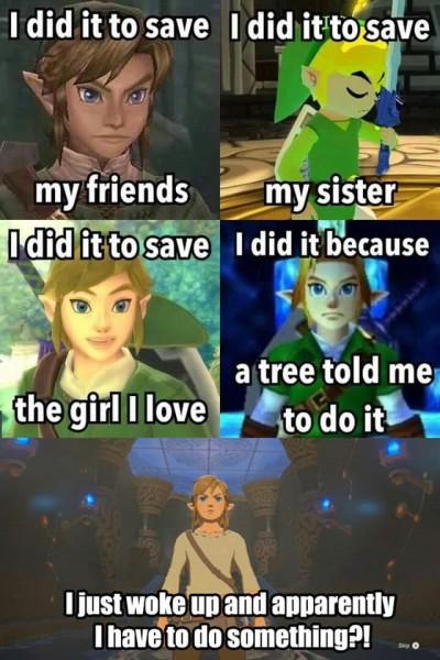 A Meme Zelda