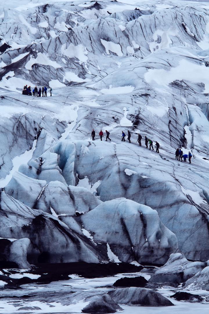 Langjokull Glacier, Iceland (Photo credit to Claire Nolan)