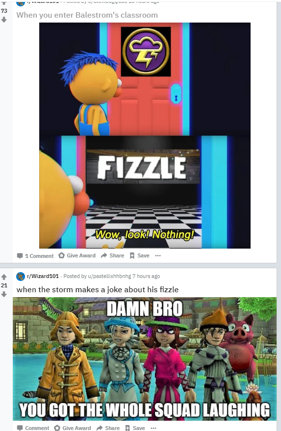 Reddit Did A Thing Wizard101