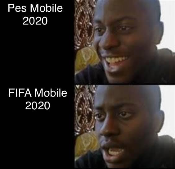 Meme The Reason I M Playing Pes Instead Of Fifa Futmobile