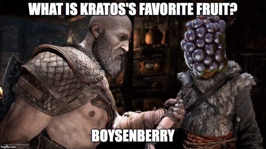 God Of War Meme Gaming