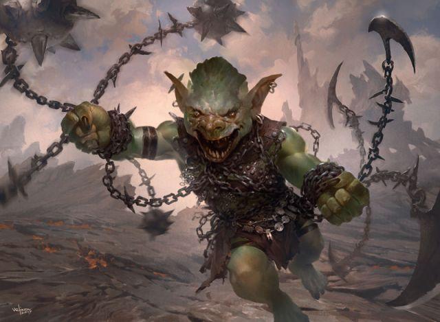 Image result for goblin chainwhirler art