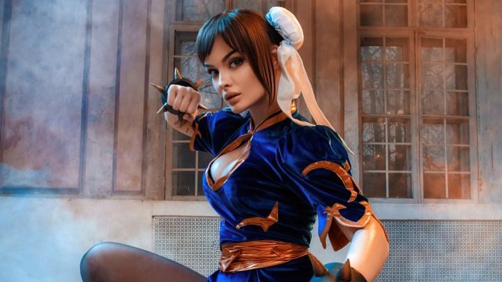 [1366×768] Chun Li From The Street Fighter Cosplay.