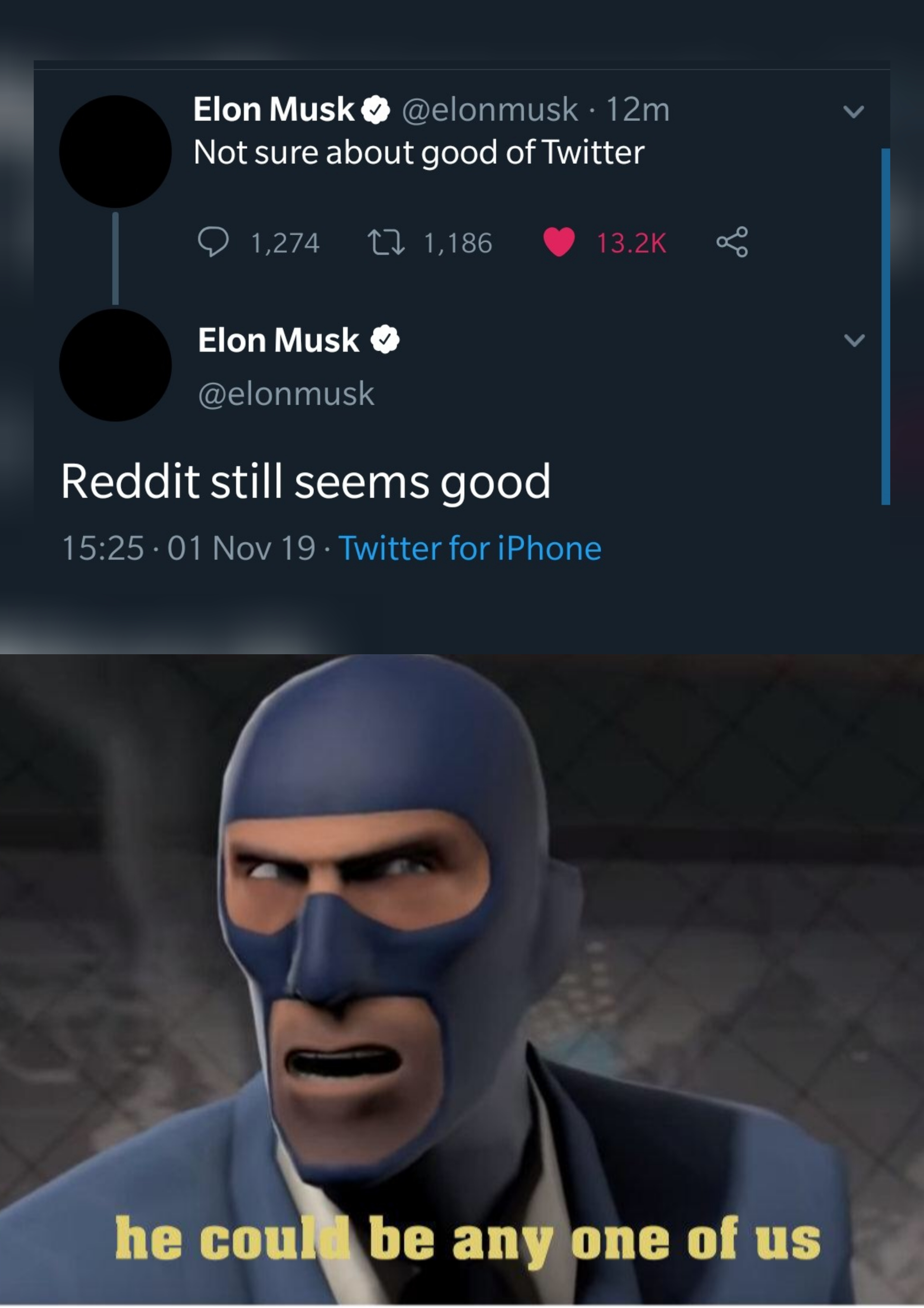 Reddit Good Twitter Bad Memes