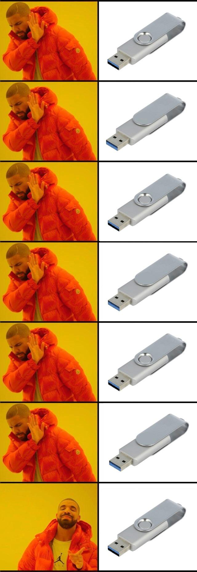 Usb Sticks Be Like Memes