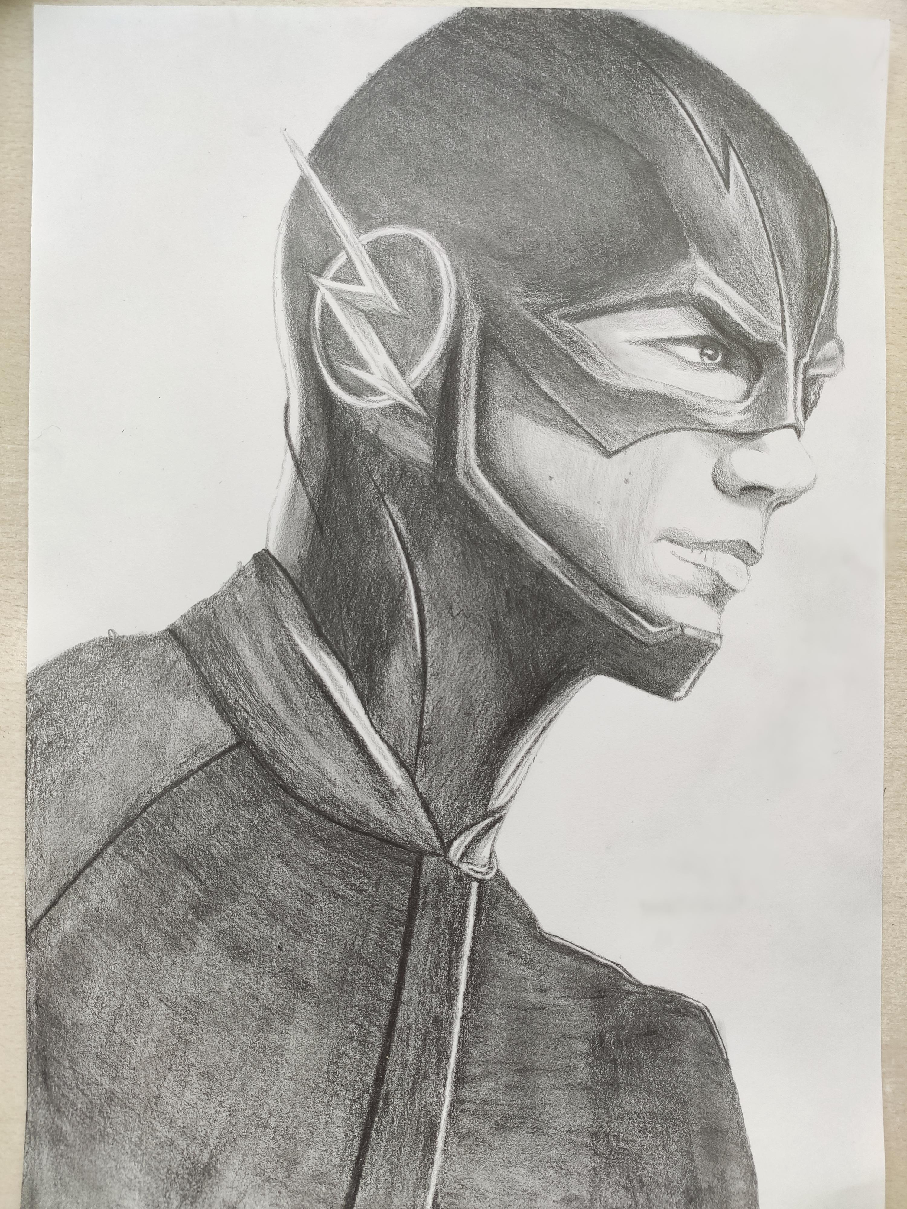 Drawing The Flash While Watching The Flash Flashtv