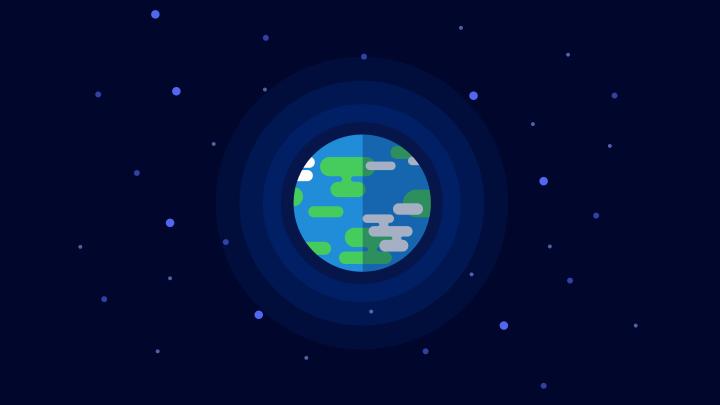 kurzgesagt Earth Wallpaper 4k – made this in Figma