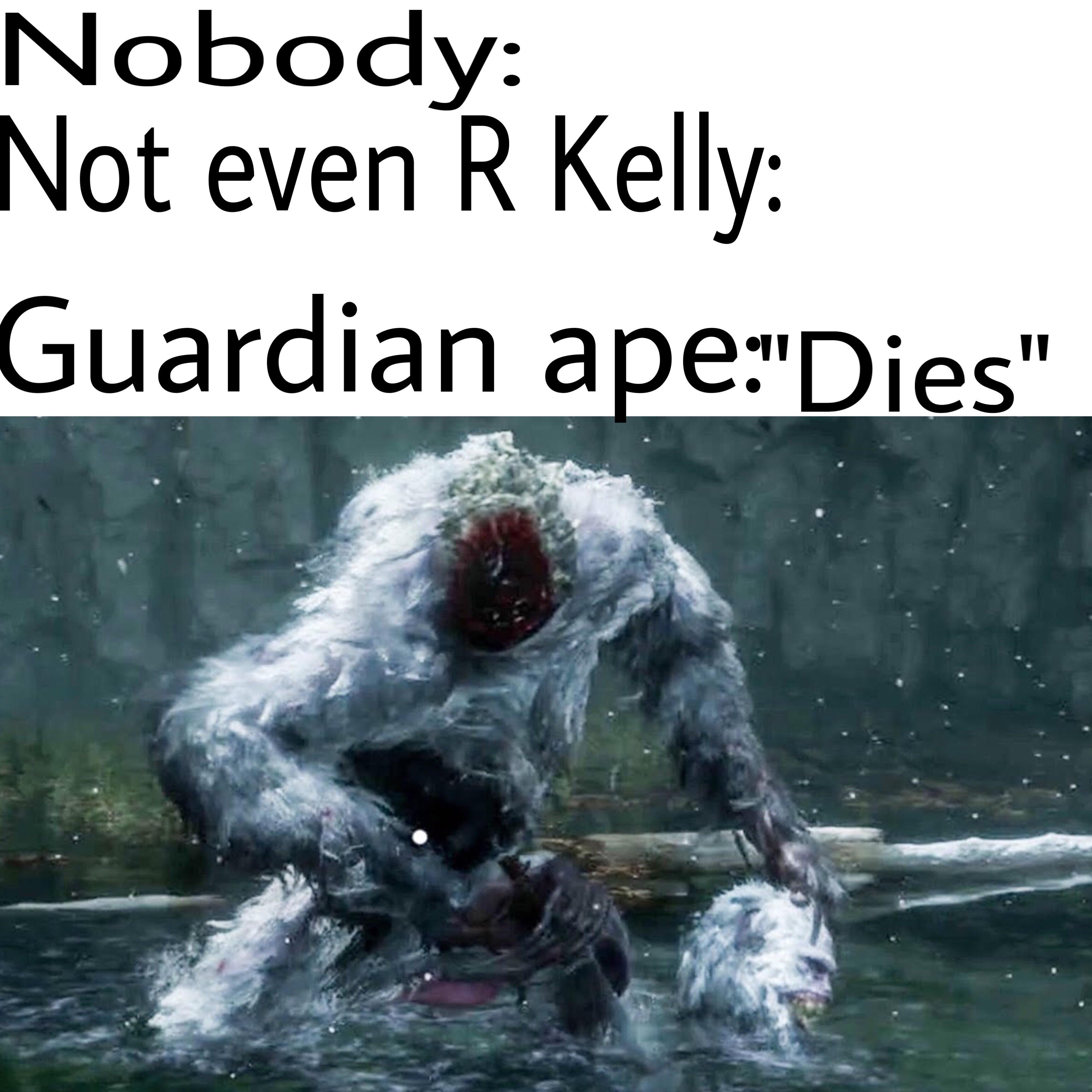 Guardian Ape Is A Meme Youtube