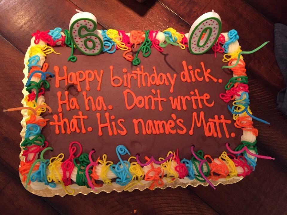 Happy 60th Matt Funny