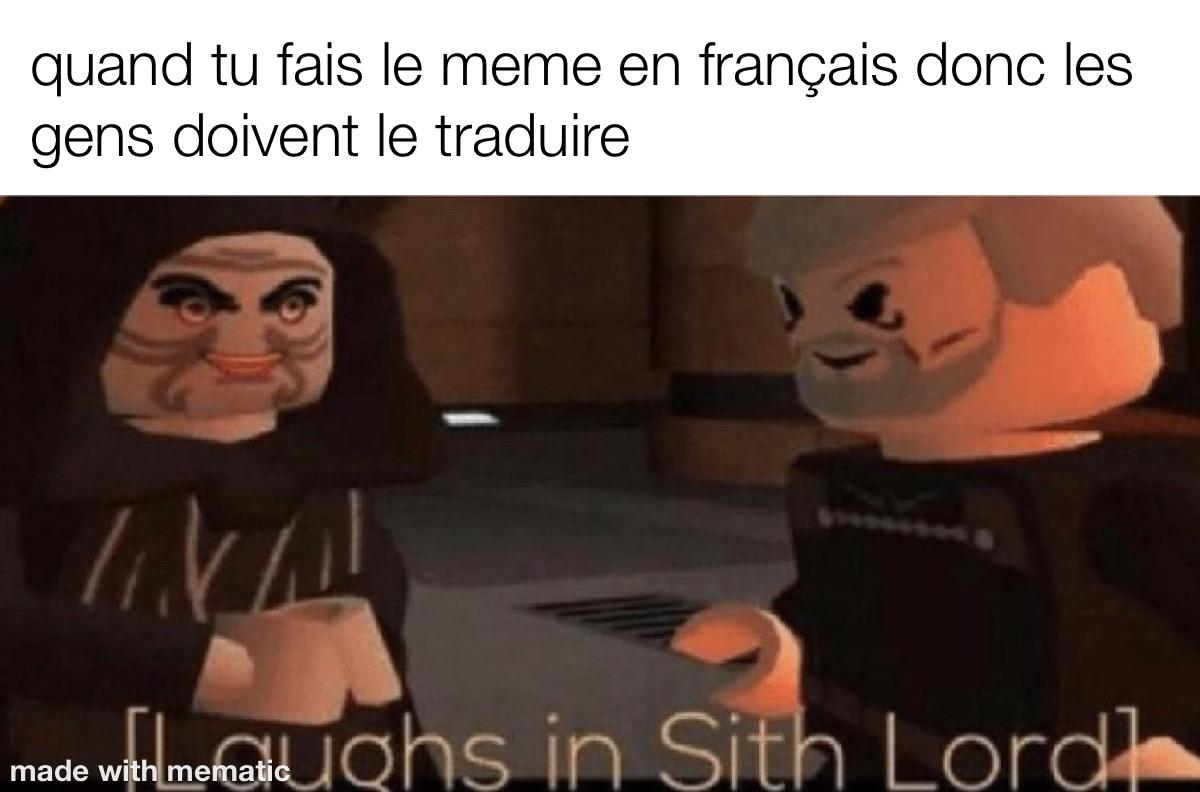 Only French People Can Understand Memes