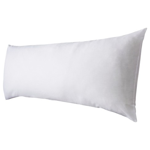 inch body pillow and a plain grey