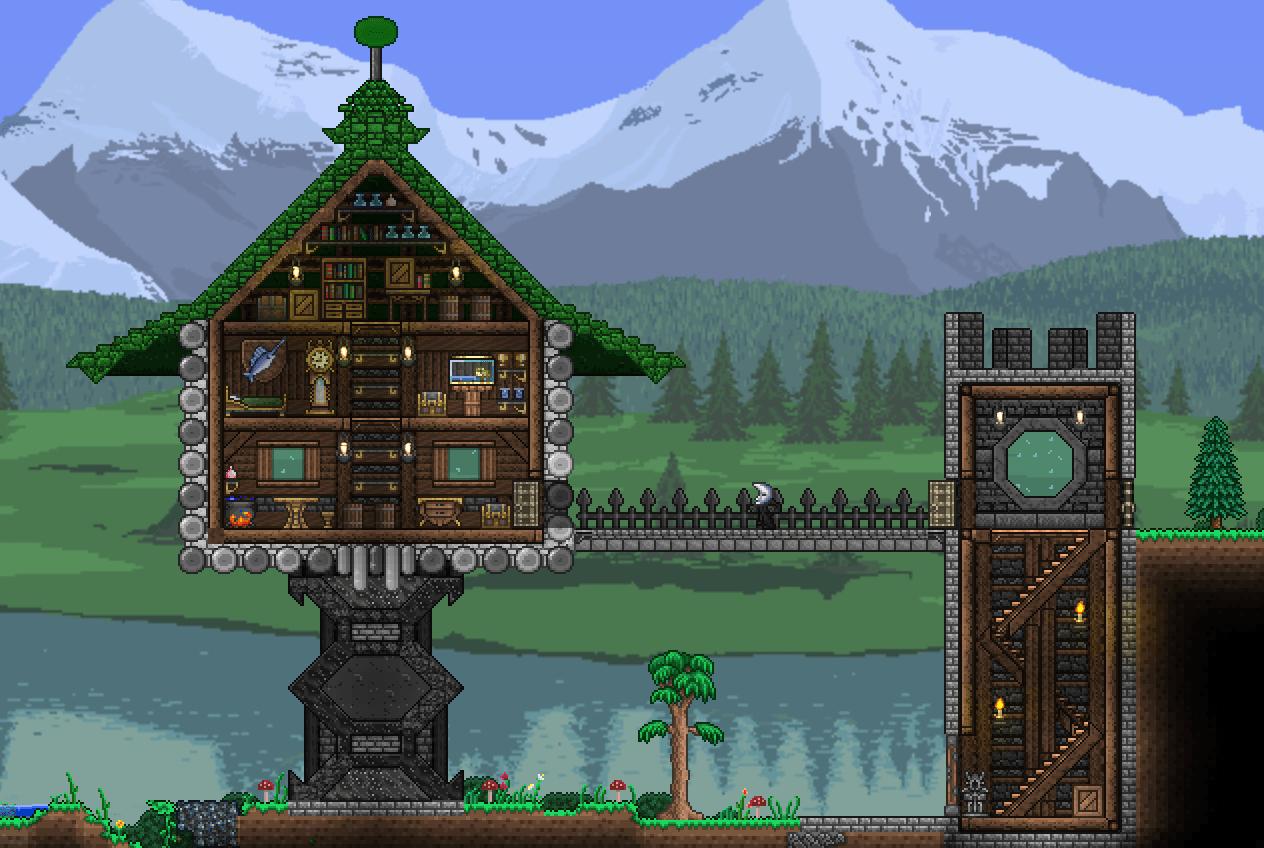 Pedestal House Terraria