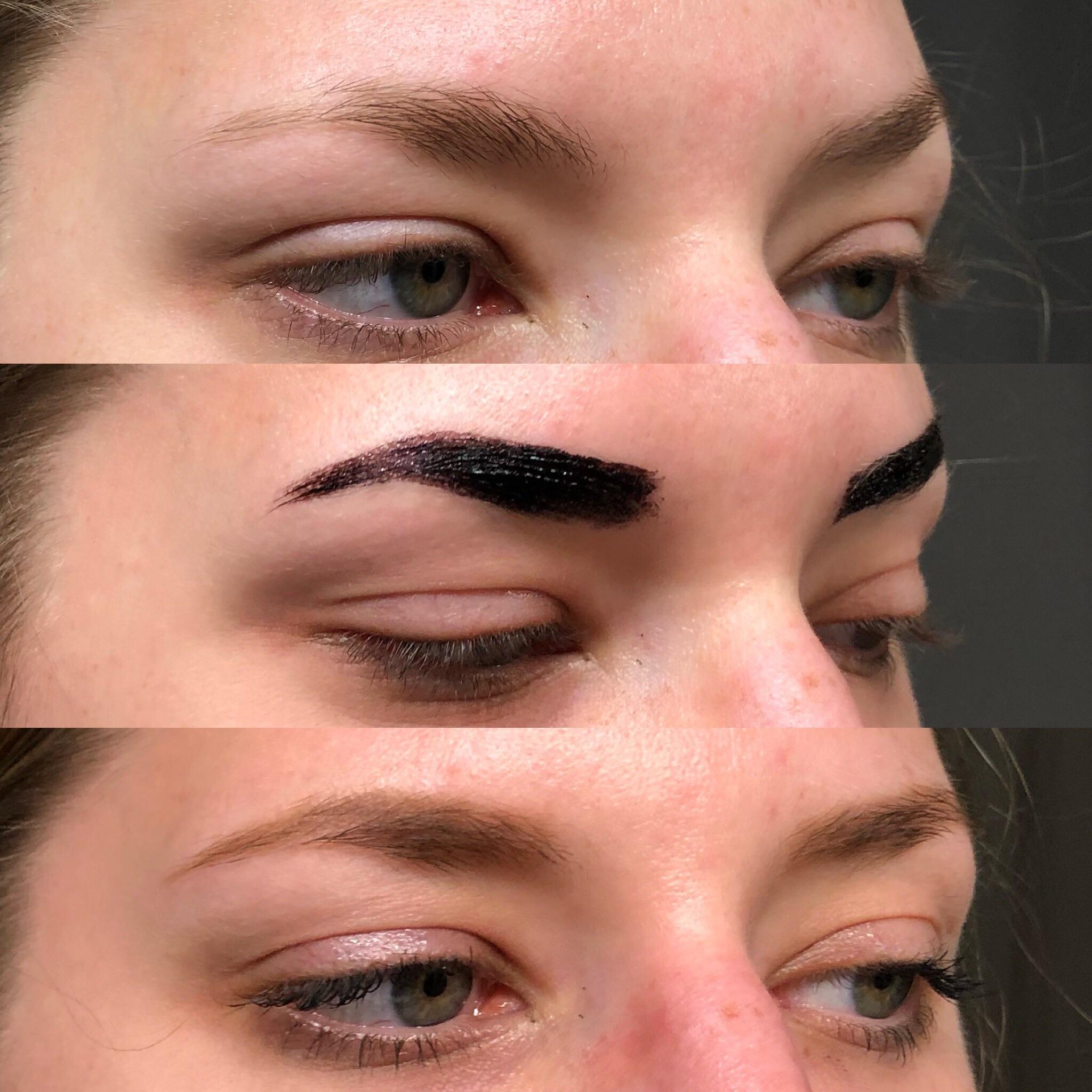 Mini Review Of Etude House Eyebrow Tint In Gray Brown Makeupaddiction