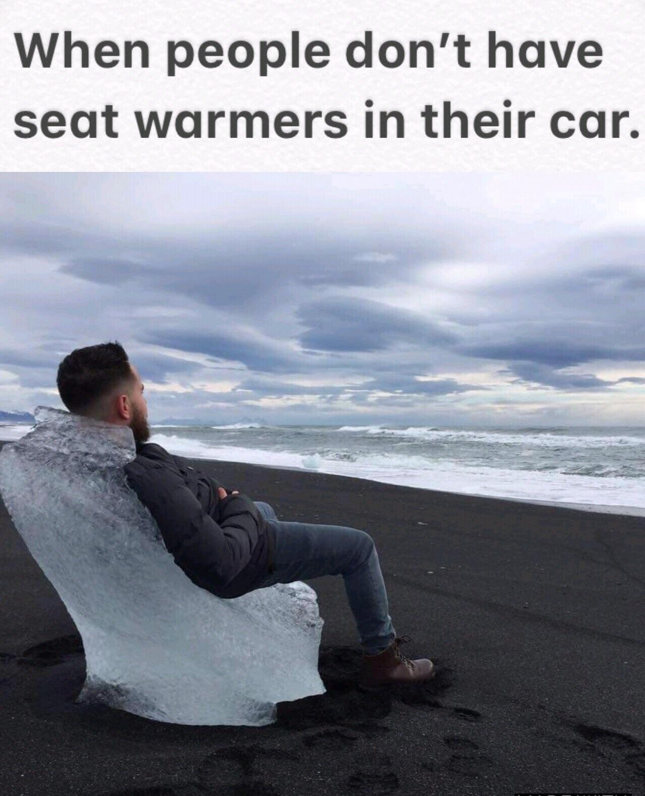 Leather Seats In The Winter Be Like Memes