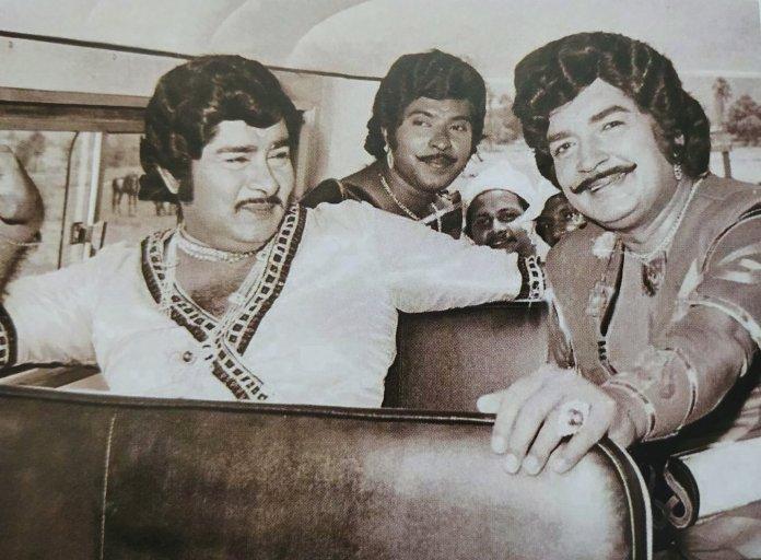 Three legends. Padayottam - 1982... (source: @premnazirology) : Kerala