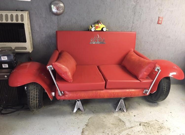 Hot Rod Couch Atbge