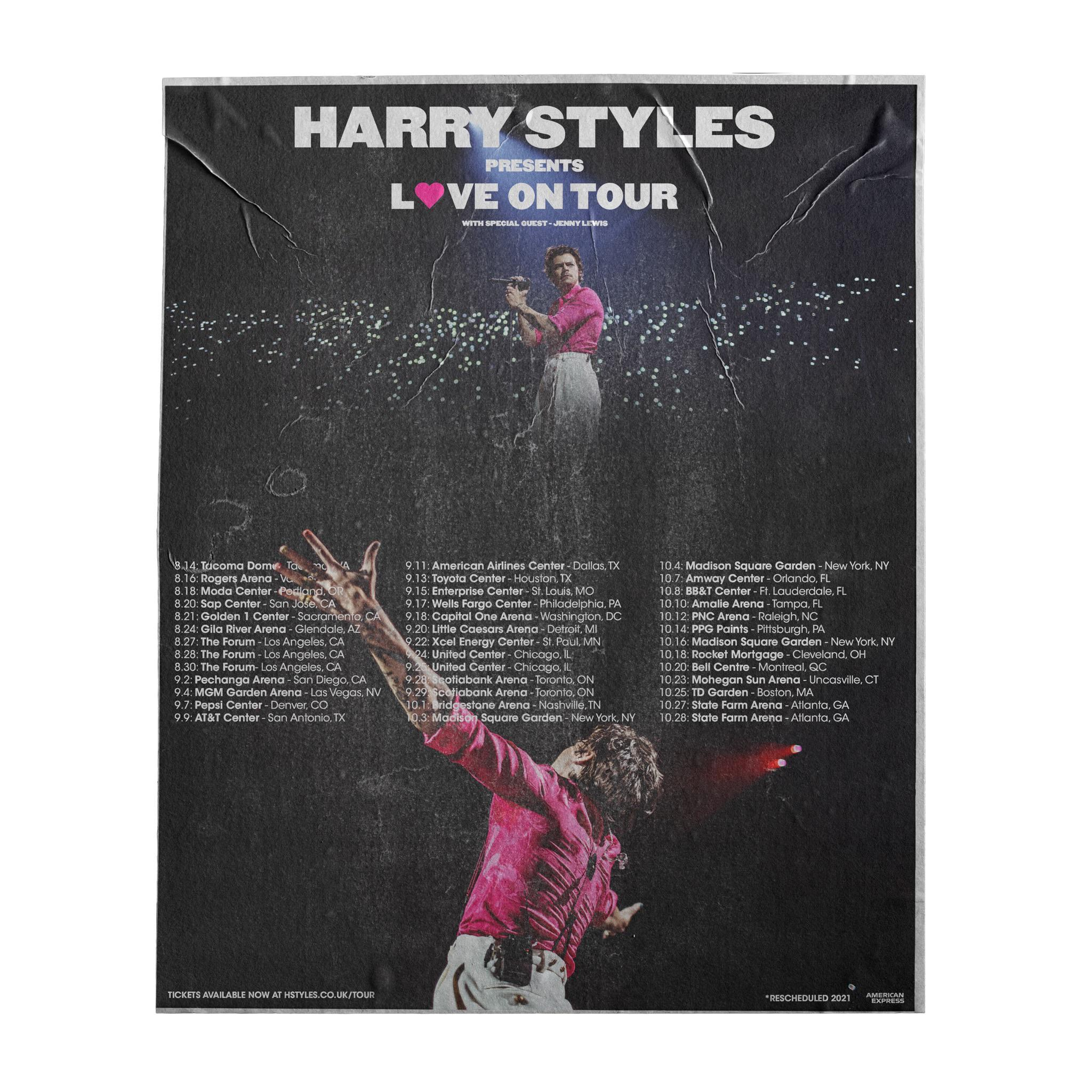 poster i made for love on tour