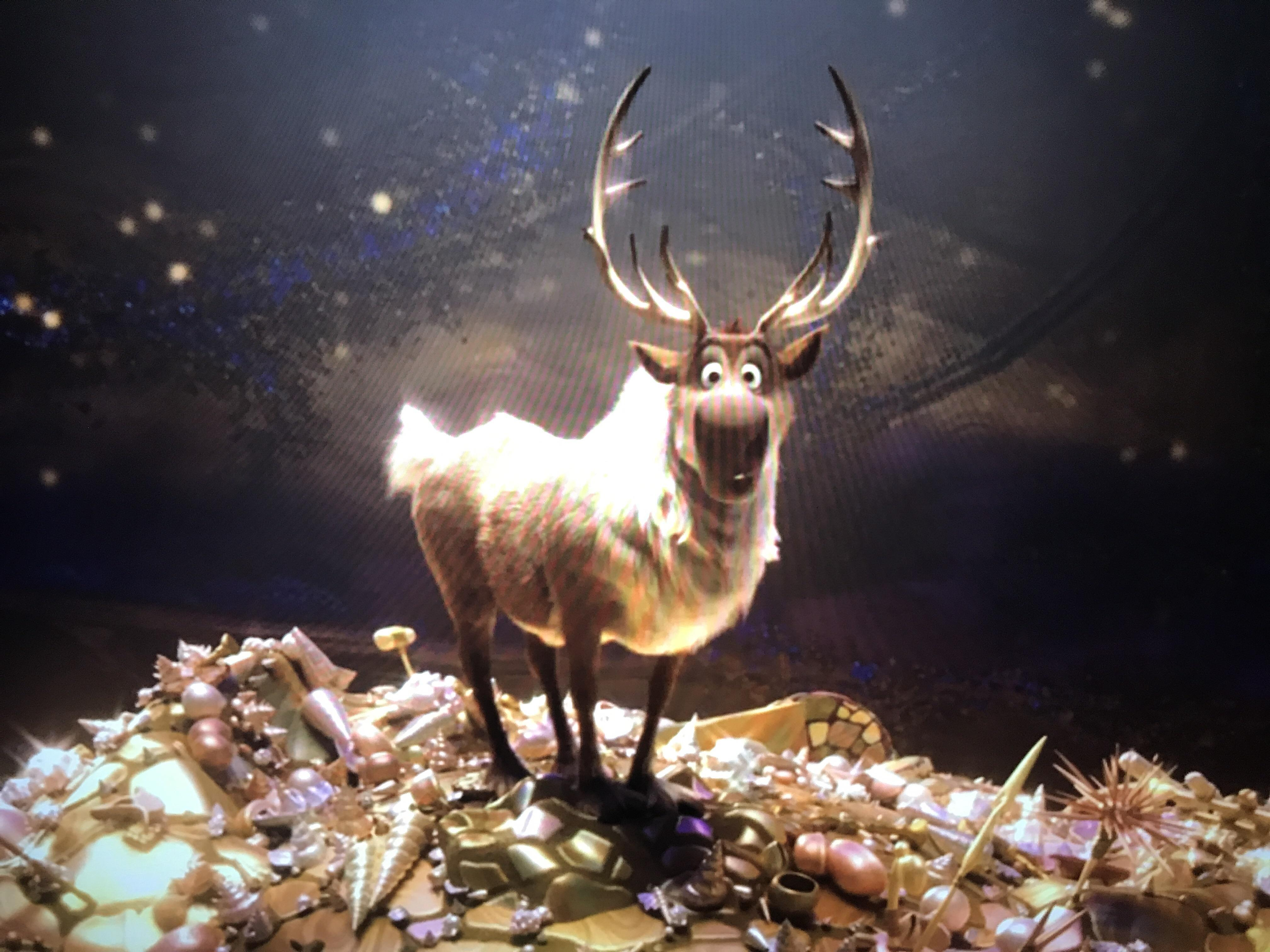Reindeer From Frozen In Moana Moviedetails