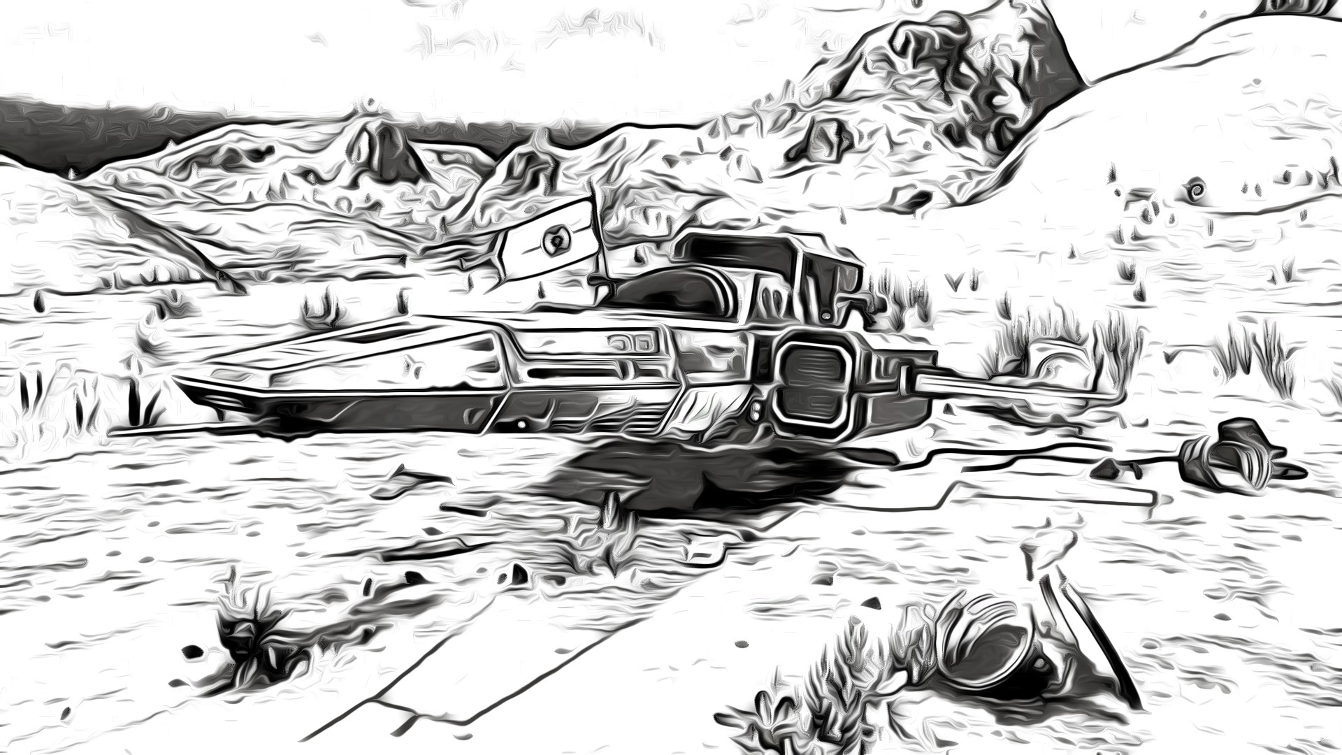 I Take Screenshots From My Nms And Turn Them Into Coloring Pages For My Kids To Colour In Nomansskythegame