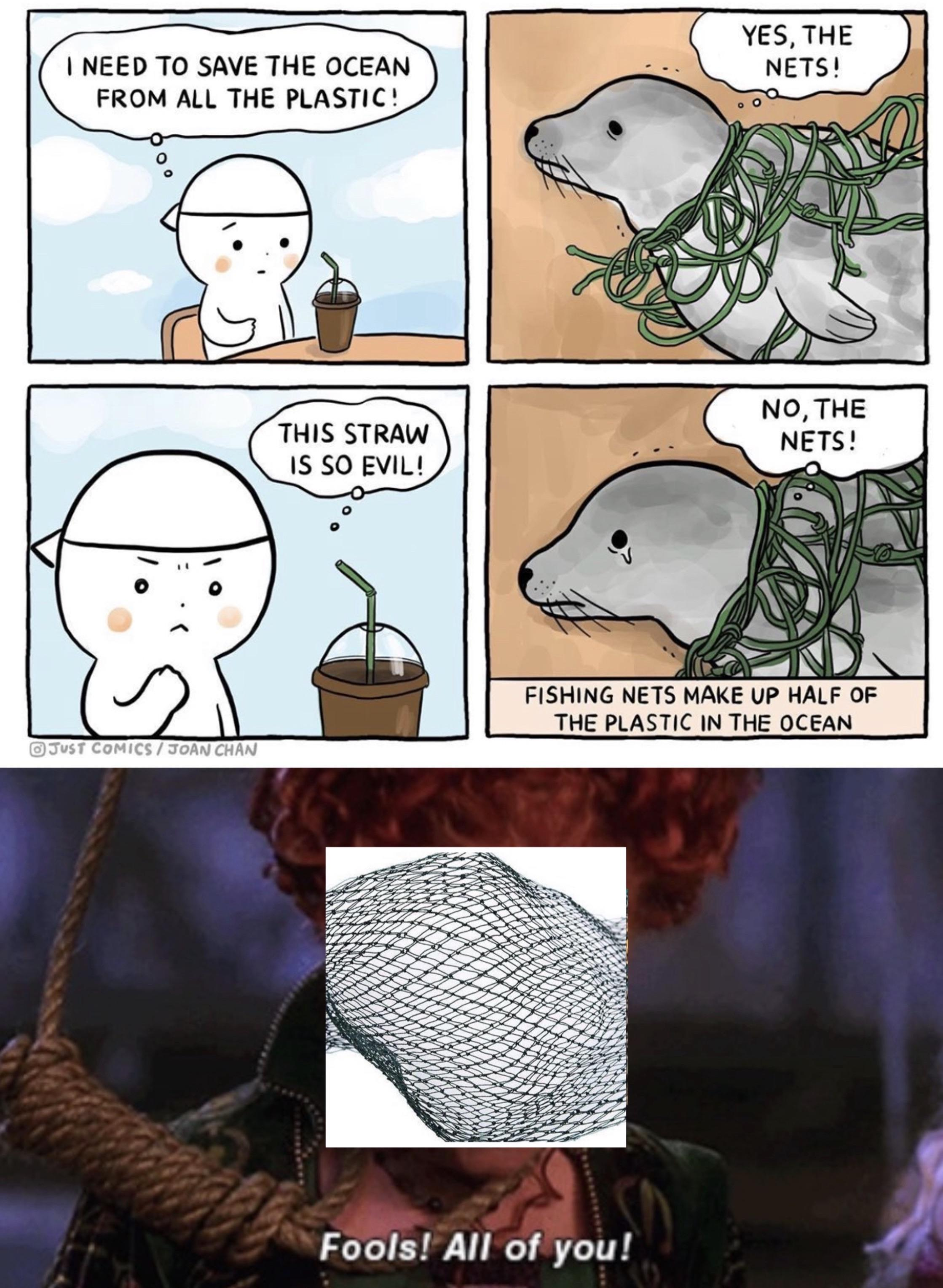 Straws Bad Fish Nets Badder Memes