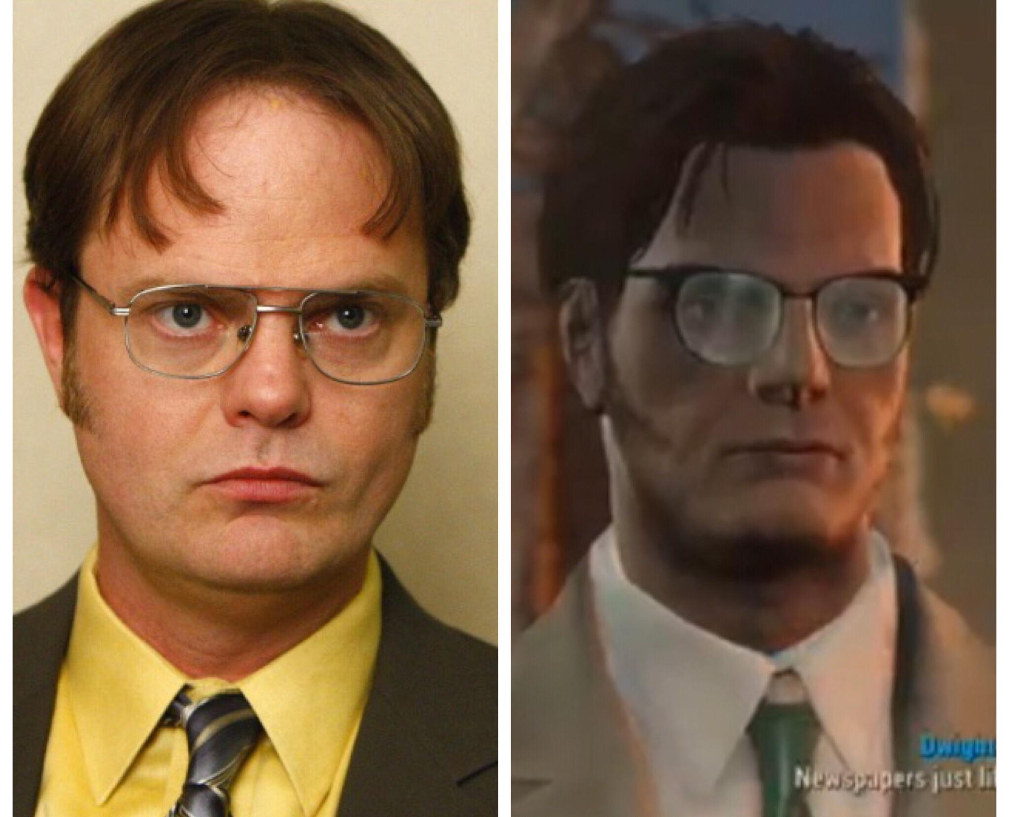 I Made Dwight From The Office In Fallout 4 Fo4