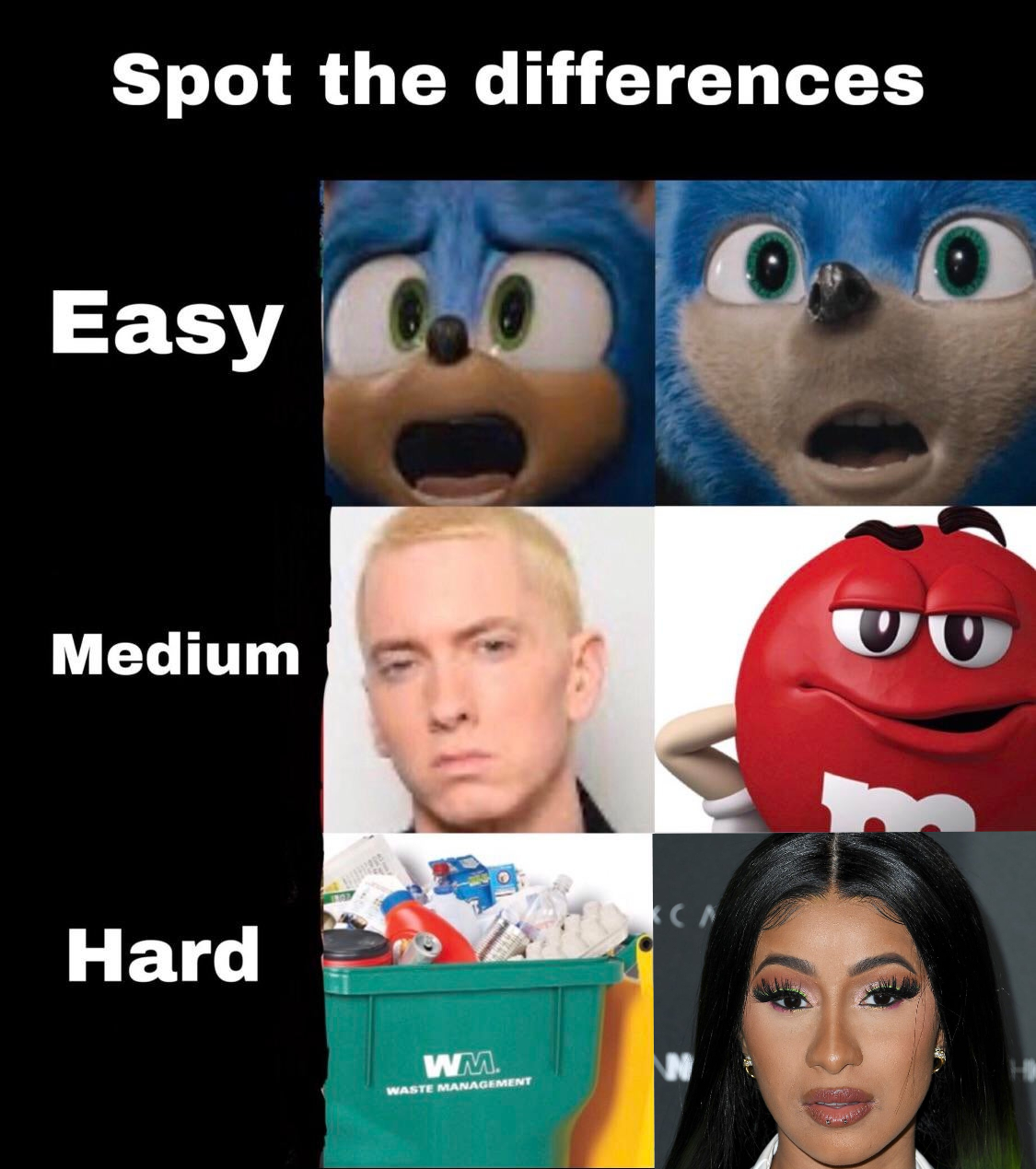 25 Best Memes About Spot The Difference Meme Spot The