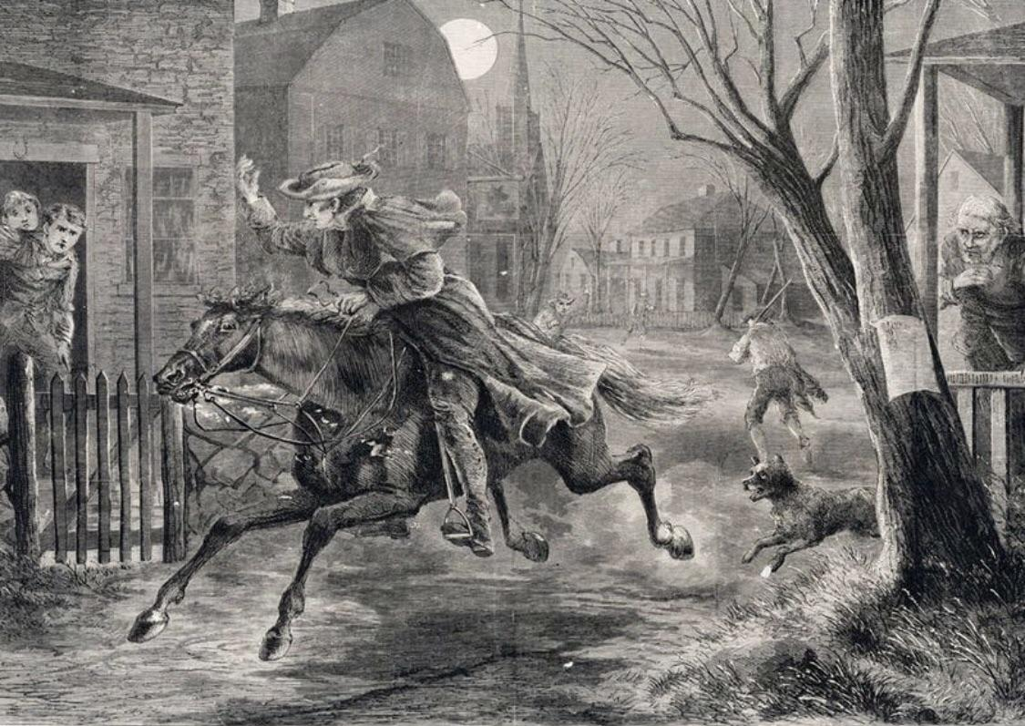 In This Day Paul Revere A Patriotic Symbol For