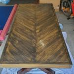 Screwed Up The Waterproofing Of My Oil Stained Picnic Table By Not Mixing Ilthe Sealer Well Enough Before Application Behr Waterproofing Wood Finish I Ve Had An Oily Sheen For About 3 Days